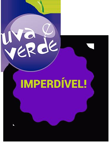 Logotipo Uva e Verde Imperdível